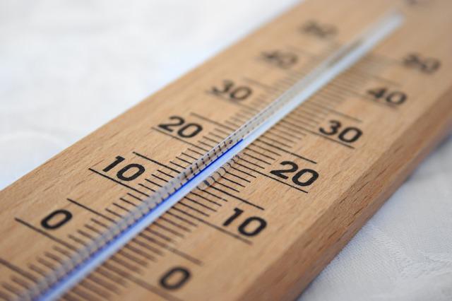 pont thermique et température