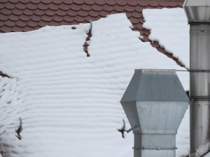 neige et toiture
